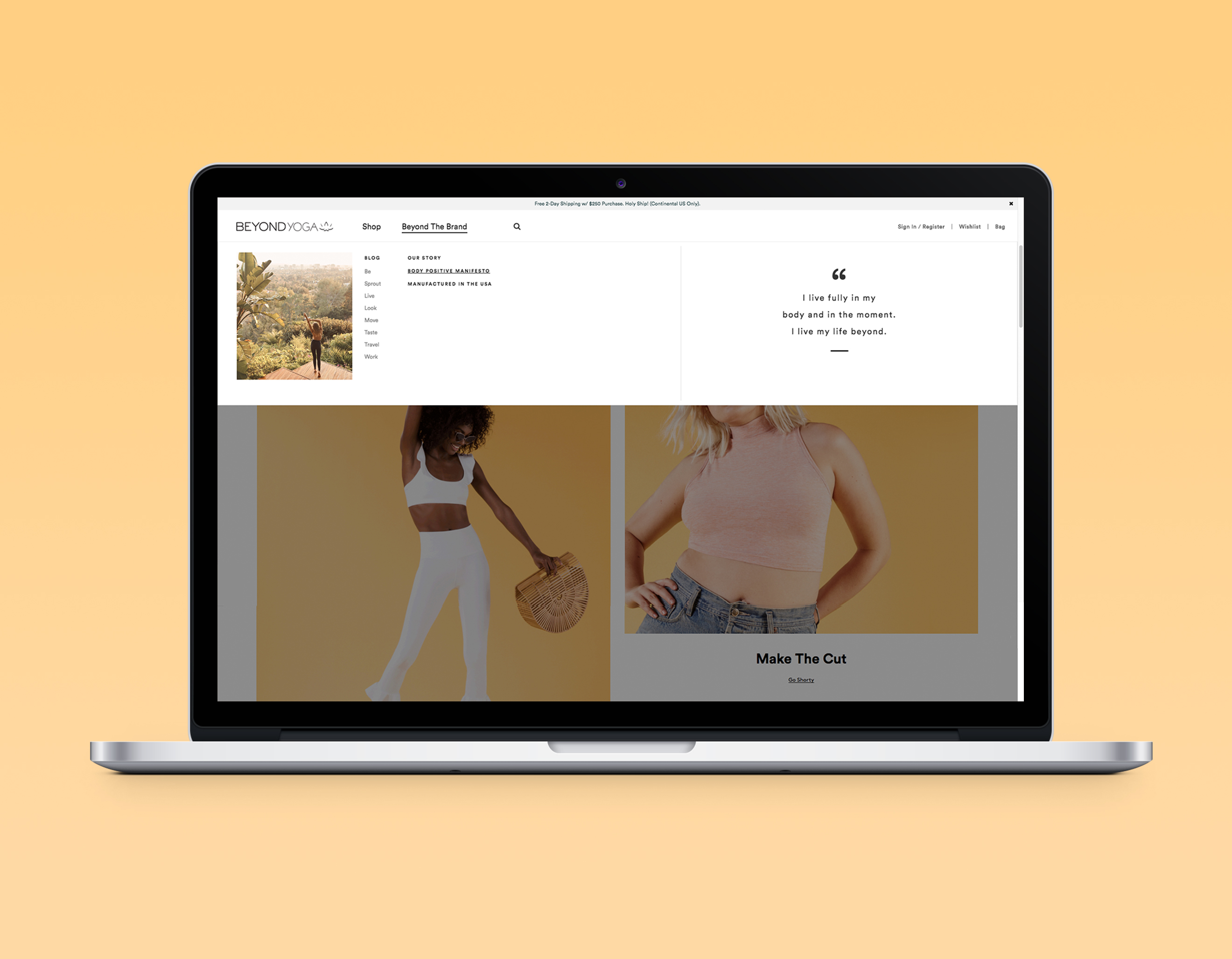 Optimize site experience