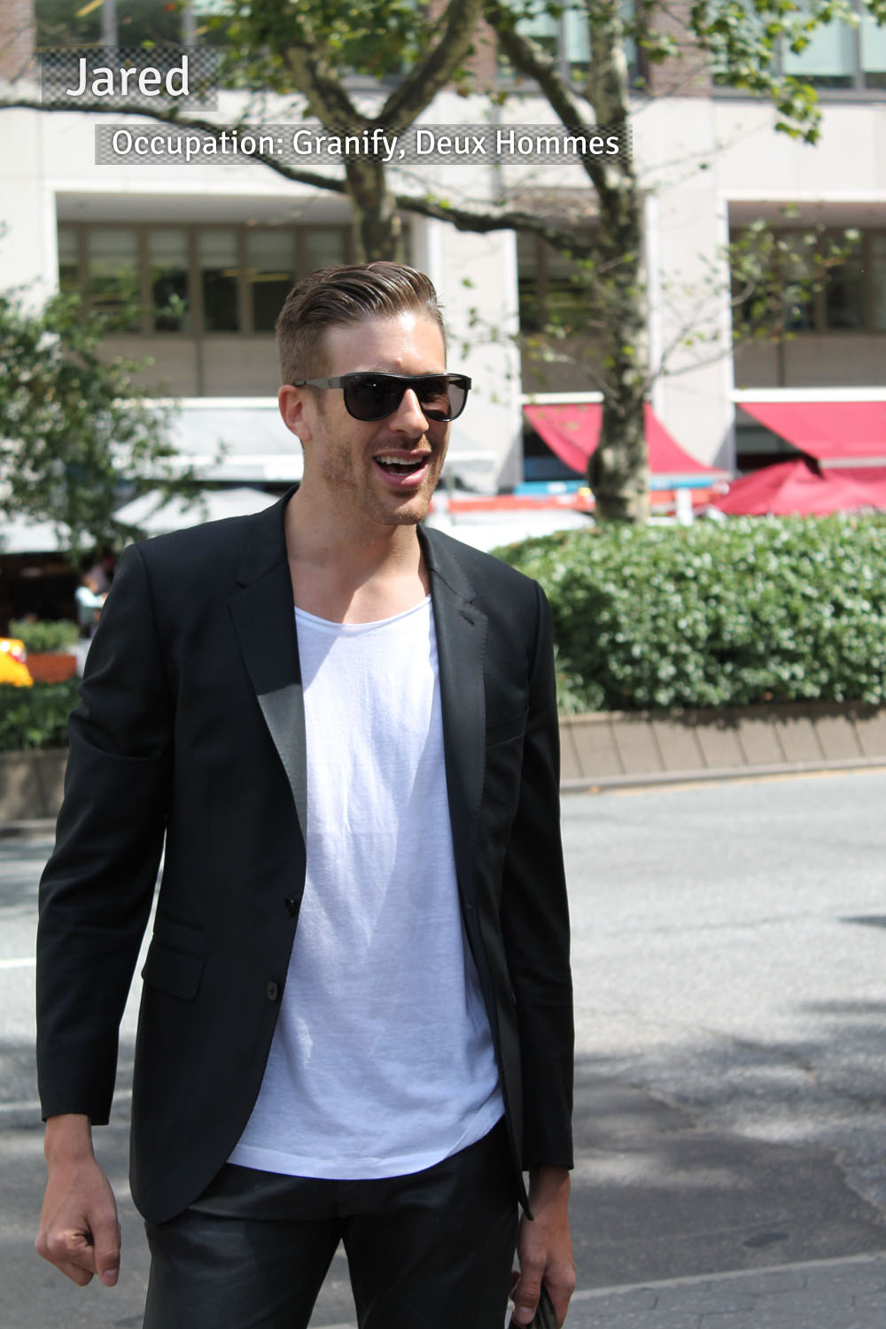 Corra's New York Fashion Week Street Style Blog | Day 1 - Jared from New York