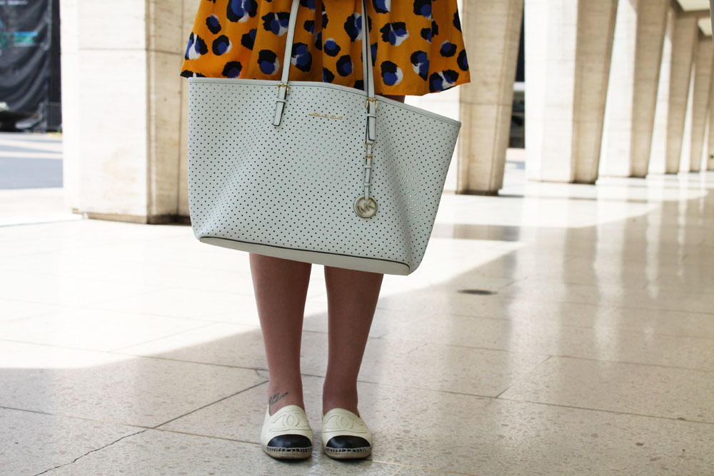 Corra's New York Fashion Week Street Style Blog | Day 1 - Klaudia from New Jersey