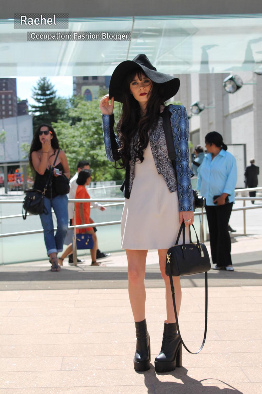 Corra's New York Fashion Week Street Style Blog | Day 1 - Rachel from New York