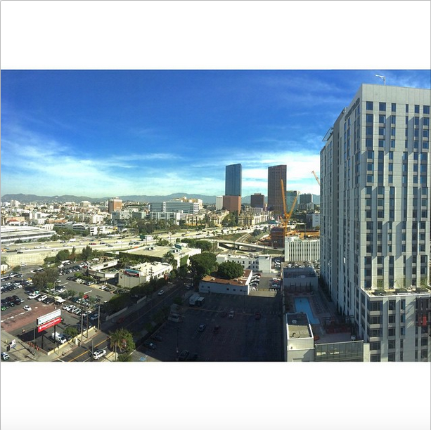 Good morning LA #earlymorning #irce #ircefocus #irce2015 (@siurious)