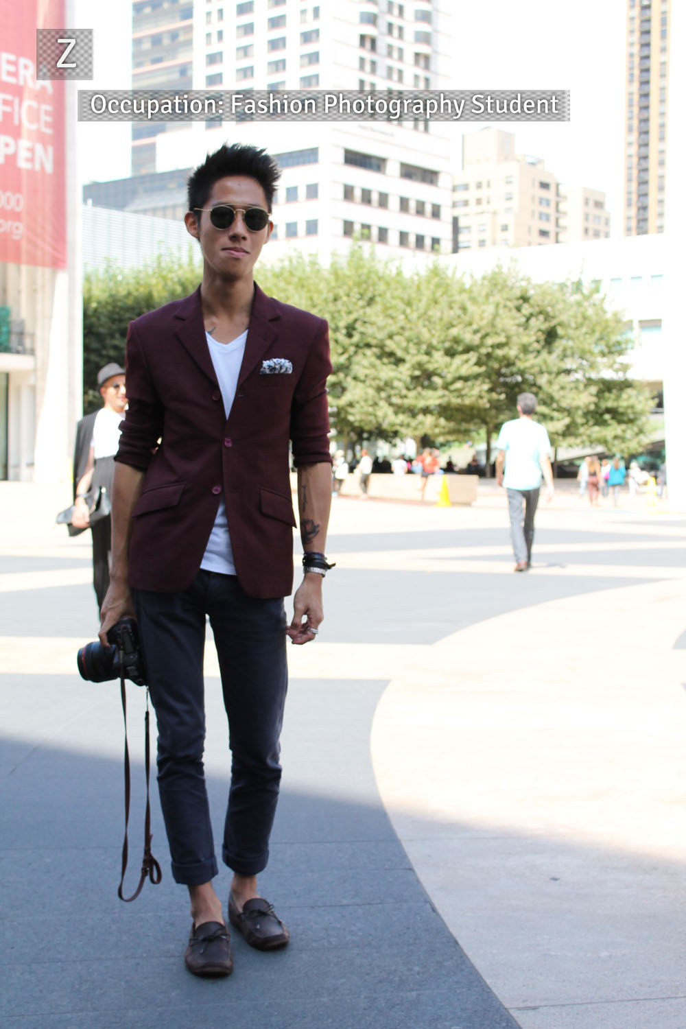 Corra's New York Fashion Week Street Style Blog | Day 1 - Z from Singapore