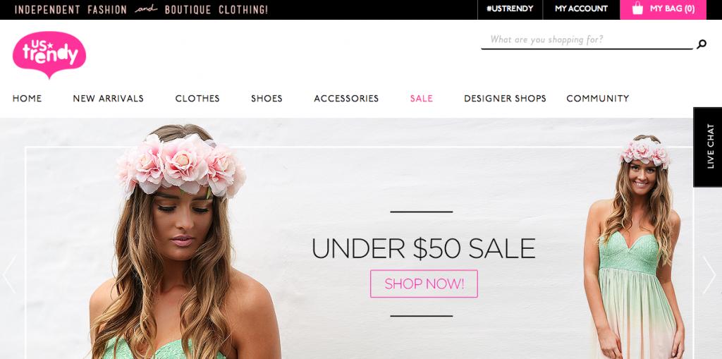 Corra Blog, UsTrendy Homepage