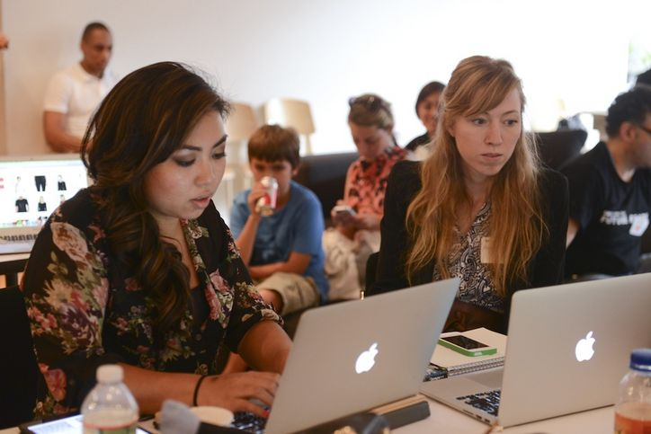 Dressed to Code: Glamour and the CFDA Hosted a Fashion Hackathon at New York Fashion Week