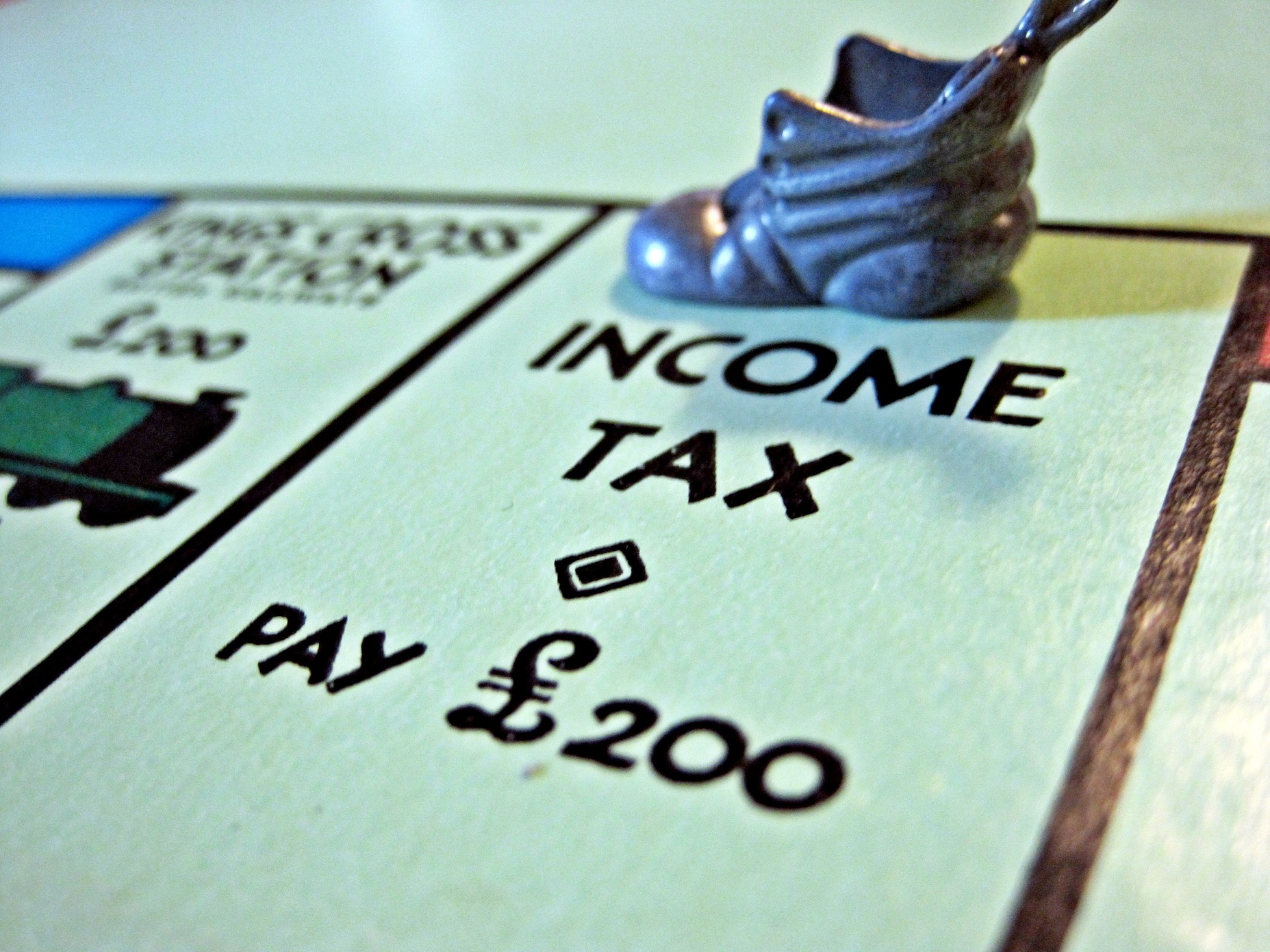 Monopoly Board and the proposed internet sales tax