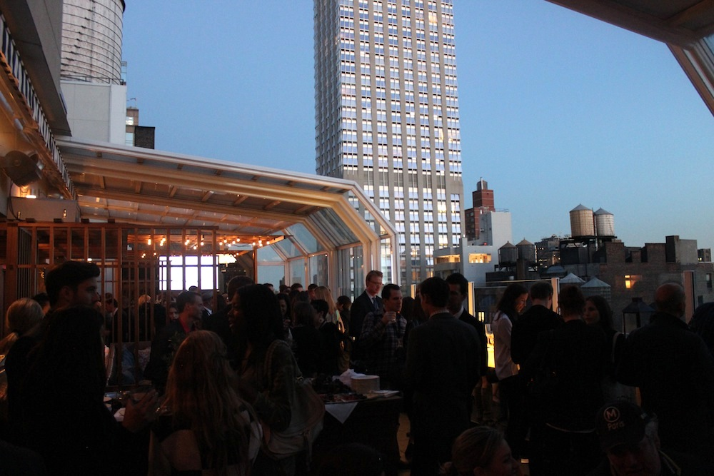 View from the Strand Hotel | Corra's Exclusive pre-WWD Fashion Ecommerce Event, Strand Hotel in NYC