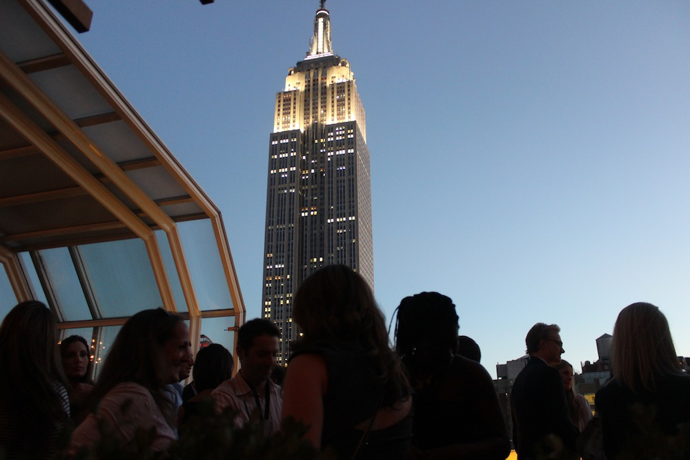 The Empire State Building | Corra's Exclusive pre-WWD Fashion Ecommerce Event, Strand Hotel in NYC