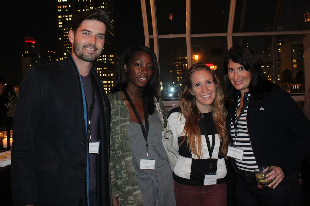 | Corra's Exclusive pre-WWD Fashion Ecommerce Event, Strand Hotel in NYC