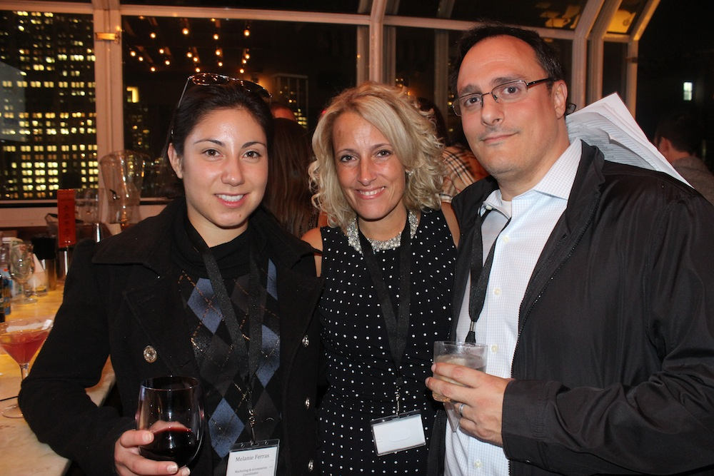 Corra Manager with guests from Focus Camera | Corra's Exclusive pre-WWD Fashion Ecommerce Event, Strand Hotel in NYC