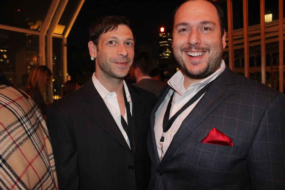 Jeffrey and Abbi from Celebros | Corra's Exclusive pre-WWD Fashion Ecommerce Event, Strand Hotel in NYC