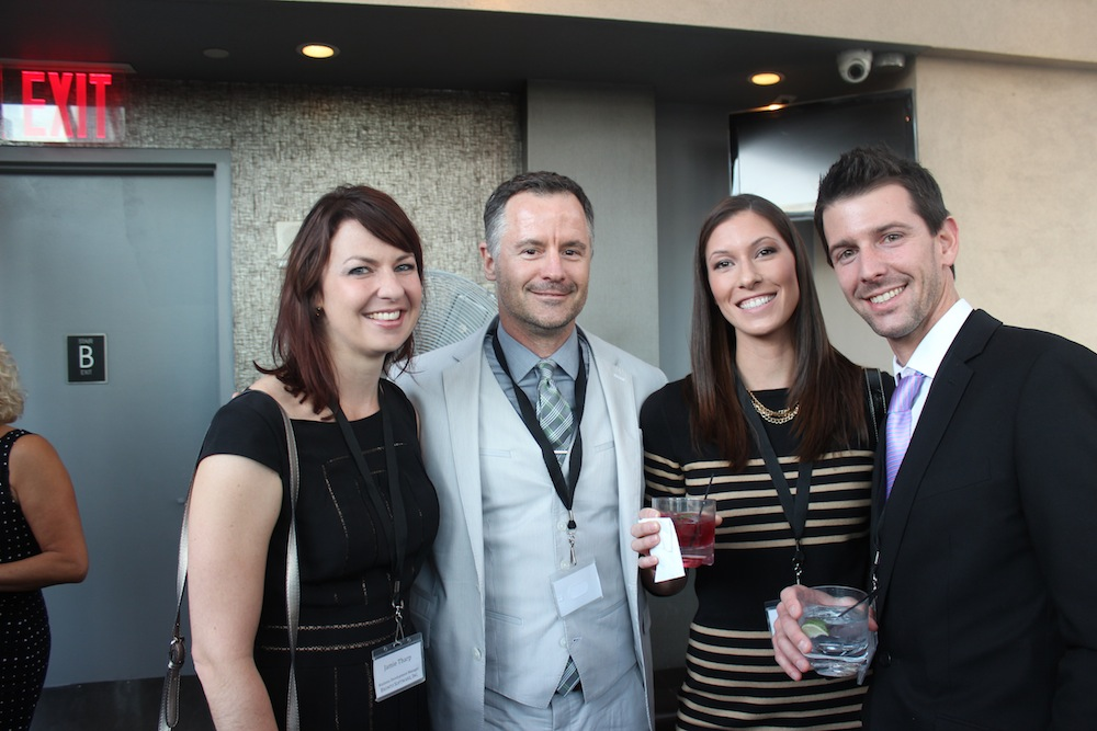 Corra COO and Channel Manager with Managers from Bronto and MyBuys | Corra's Exclusive pre-WWD Fashion Ecommerce Event, Strand Hotel in NYC
