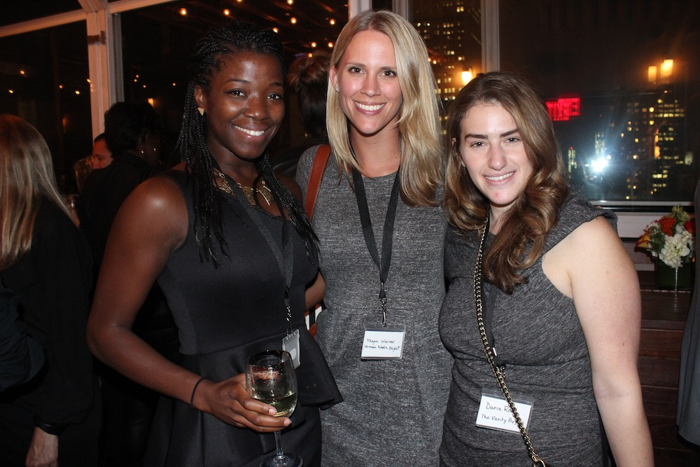 Guests from Ecobags, Human Needs Project and The Vanity Project | Corra's Exclusive pre-WWD Fashion Ecommerce Event, Strand Hotel in NYC