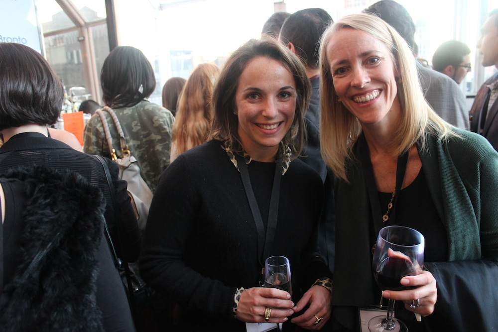 Kristin and Stacey from Komar Brands | Corra's Exclusive pre-WWD Fashion Ecommerce Event, Strand Hotel in NYC