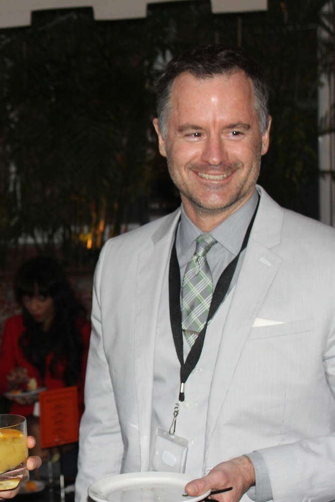 Corra COO Michael Harvey | Corra's Exclusive pre-WWD Fashion Ecommerce Event, Strand Hotel in NYC