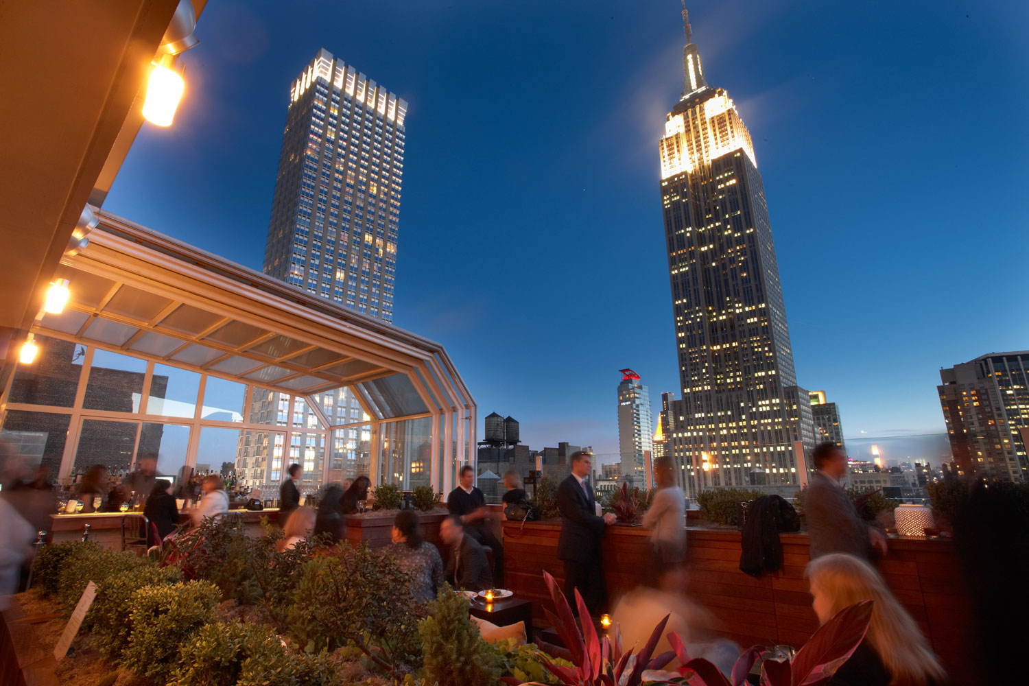 Corra Hosts pre-WWD Fashion Networking Event, The Strand Hotel Rooftop, New York