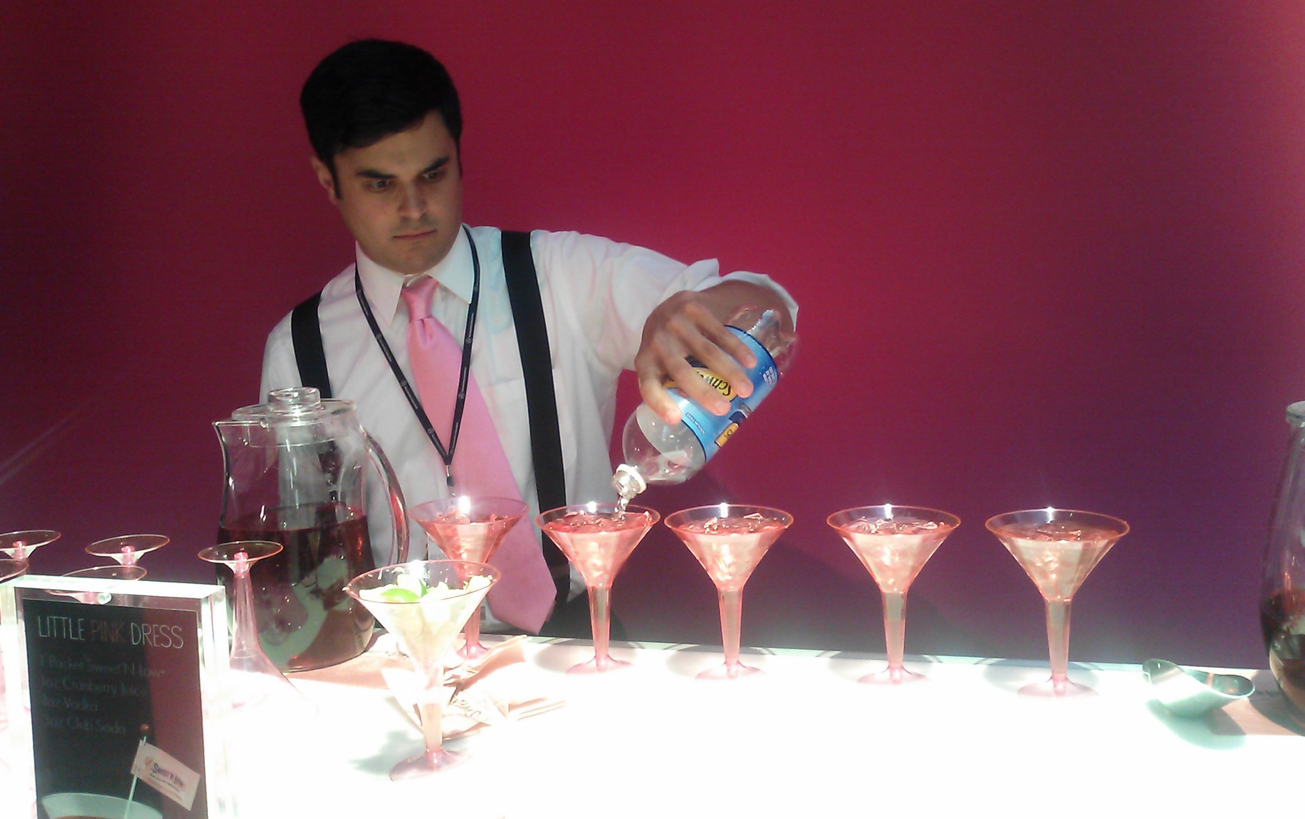 Complementary Cocktails Tinged with Sweet N Low, Lincoln Center, New York Fashion Week