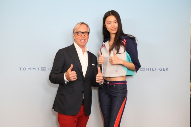 Tommy Hilfiger, a NYFW veteran of at least 30 years